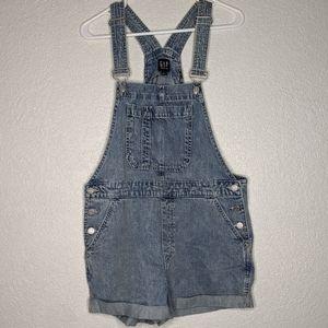 Gap denim overalls size medium (q)